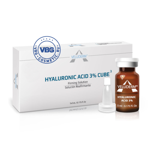 VELUDERM HYALURONIC ACID 3% CUBE 3, 5 ml