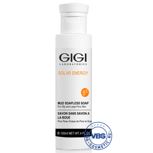 GIGI SE Solar Energy Mud Soapless Soap Мыло ихтиоловое