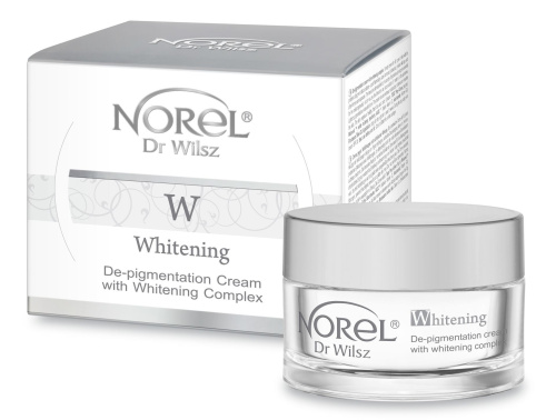 Norel Dr. Wilsz Whitening - De-pigmentation cream with whitening complex Крем для кожи с гиперпигментацией