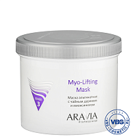ARAVIA Professional Маска альгинатная с чайным деревом и миоксинолом Myo-Lifting, 550 мл/8