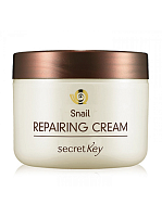 Secret Key Гель для лица с муцином улитки Snail Repairing Gel Cream