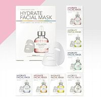 DERMAL Набор/Маска для лица тканевая 7 DAYS FACIAL CARE HYDRATE FACIAL MASK, 7 шт